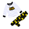 Image of Baby Boys Kids Superhero 2Pcs Clothes Set T-Shirt Tops Long Pants Outfit Suit | Edlpe
