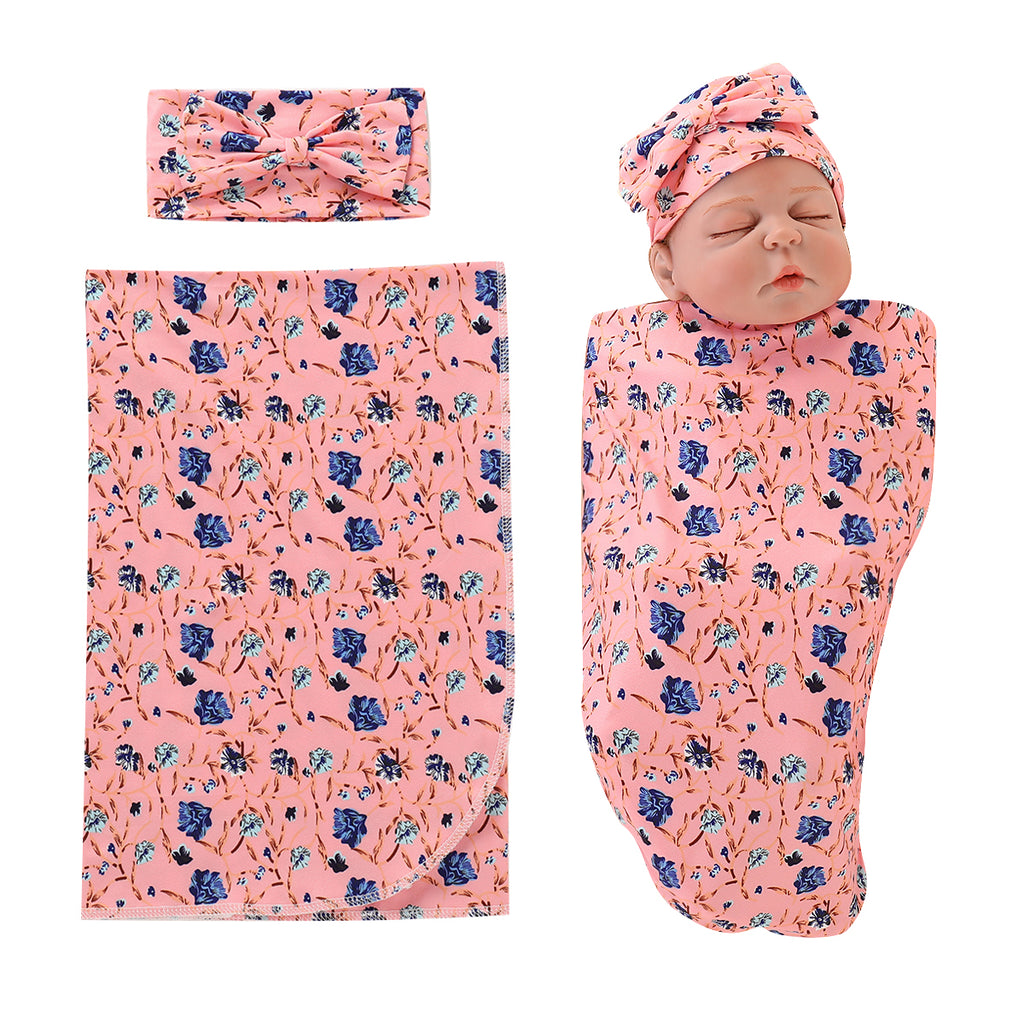 Newborn Baby Floral Sleep Bags Infant Girls Outfits Casual Bodysuit Clothes | Edlpe
