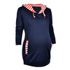 Image of Pregnant Women Maternity Sweatershirt Pullover Breastfeeding Nursing Hoodie Tops