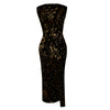Image of Women Elegant Sexy Sequins Ball Gown Evening Party Cocktail Wedding Prom Maxi Dress