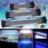 Image of Led Aquarium Light Fish Tank Light Extendable Fish Tank Light Switch Control White+Blue Light | Edlpe