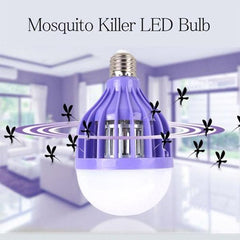 Bulb Pest Insects Reject Zapper Anti Mosquito Light Bulb Lamp/15W E27 LED