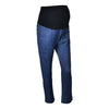 Image of Pregnant Women Imitation Denim Stomach Lift Trousers | Edlpe