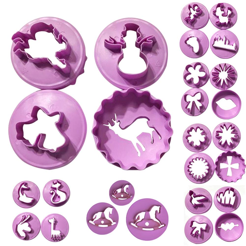 Cookie Cutters Cake Decor Biscuit Molds Confectionery Baking Tool Christmas Set | Edlpe