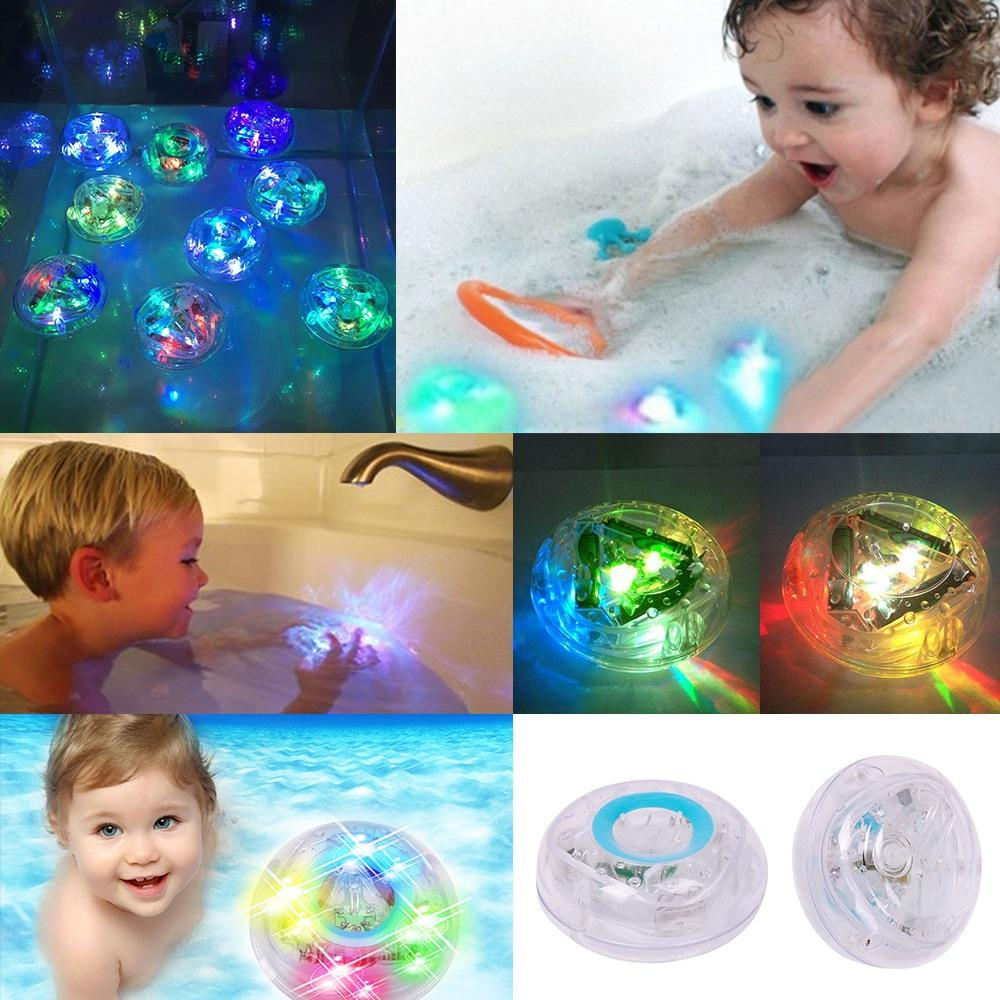 Kids Party In The Tub Toy Bath Water Led Light Children Waterproof Novelty Toys | Edlpe