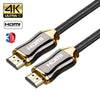 Image of Ultra Hd Hdmi Cable V2.0 High Speed With Ethernet Hdtv 3D 2160P Led Gold Arc 4K | Edlpe
