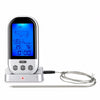 Image of Wireless Remote Lcd Digital Thermometer Oven Bbq Grill Meat Cooking Temp Alarm | Edlpe