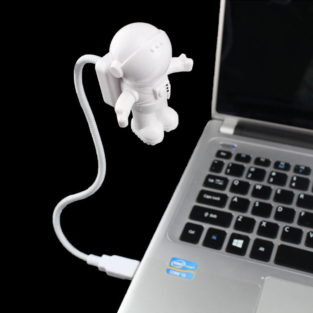 Spaceman Usb Tube Led Night Light Mini Flexible Lamp For Computer Laptop | Edlpe