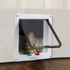 Image of 4 Way Small Medium Large Pet Cat Kitten Dog Supply Lock Lockable Safe Flap Door | Edlpe