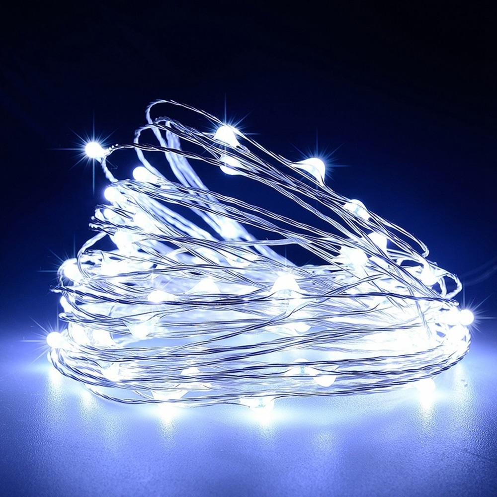 5M-20M 5V Usb Led Copper Wire String Lights Fairy Lights Xmas Garden Party Decor | Edlpe