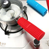 Image of Silicone Pot Pan Handle Holder Sleeve Cover Grip Hot Sleeve Kitchen Utensil | Edlpe