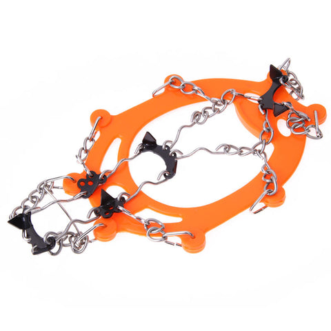 1 Pair Winter Crampons Ice Snow Climbing Anti-Slip Ice Cleats Gripper Shoe Cover | Edlpe