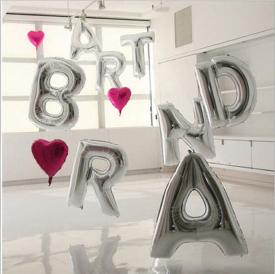 40 Large Foil Adult Baby Birthday Party Decoration Baloons Wedding Anniversary | Edlpe