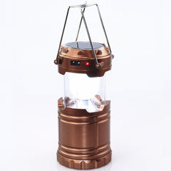 Solar Powered Hanging Lanterns Tent Rechargeable Outdoor LED Camping Lights