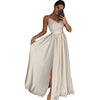 Image of Women Long Dress Evening Party Gown Prom Ladies Beach Bridesmaid Dress Sundress