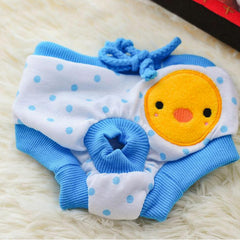 Female Dog Bitch Reuseable Sanitary Nappy Diapers Pads Pants Underwear
