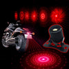 Image of Motorcycle Laser Fog Light Anti Rear End Collision Warning Lamp Led Car Tail Light | Edlpe