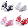 Image of Infant Toddler Newborn Baby Unisex Boys Grils Sole Crib Shoes Sneaker Prewalker | Edlpe