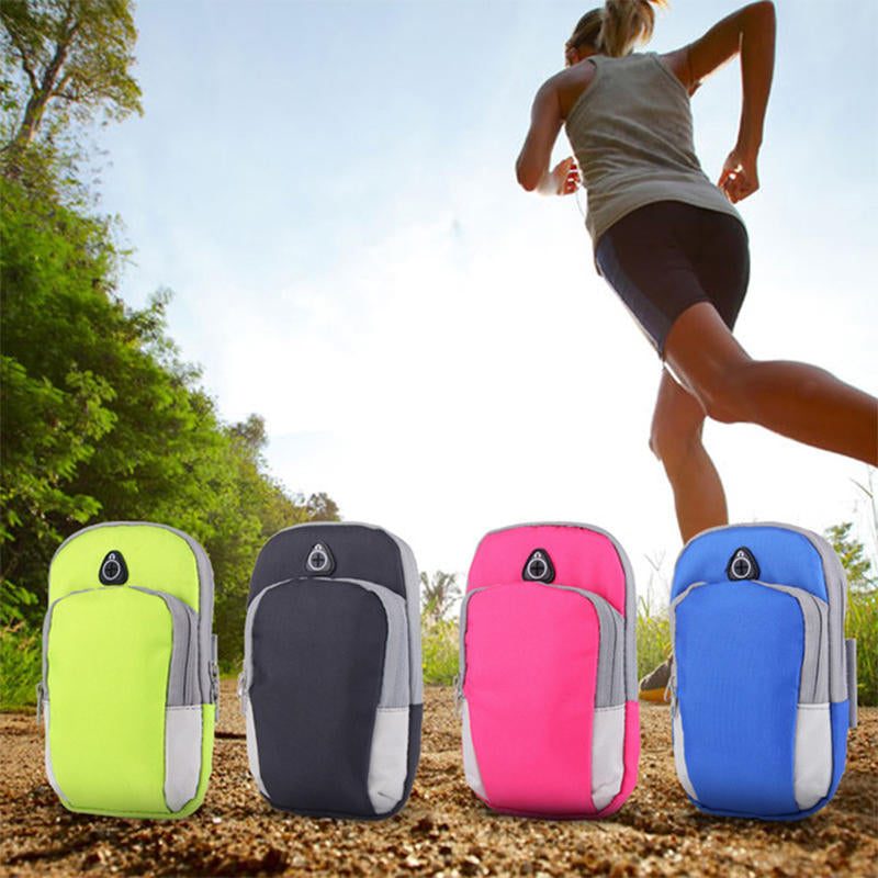 1-2Pcs Arm Band Bag Sport Gym Running Exercise Jogging Armband Holder Case Phone | Edlpe