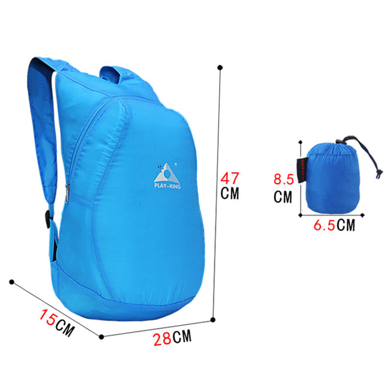 20L Foldable Backpack Waterproof Travel Bag Outdoor Hiking Camping Shoulder Bag | Edlpe