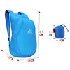 Image of 20L Foldable Backpack Waterproof Travel Bag Outdoor Hiking Camping Shoulder Bag | Edlpe