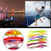 Image of Fishing Lures 5.5/40G Fishing Tackle 6 Colors Squid Drop Shot Soft Lure Baits | Edlpe