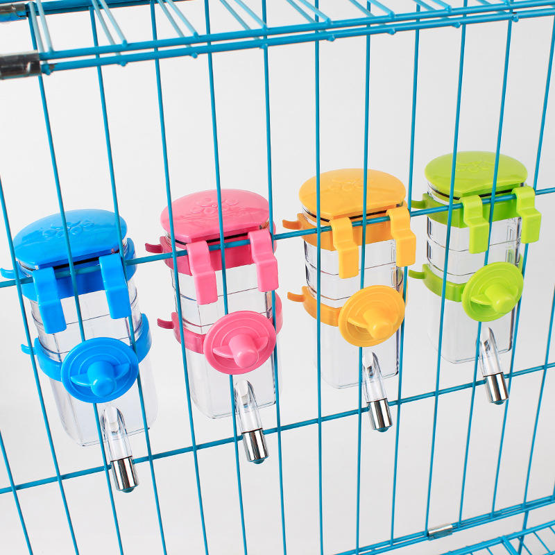 2X 350Ml Automatic Pet Dog Cat Water Feeder Bottle Dispenser Hanging Bowl Feeder | Edlpe