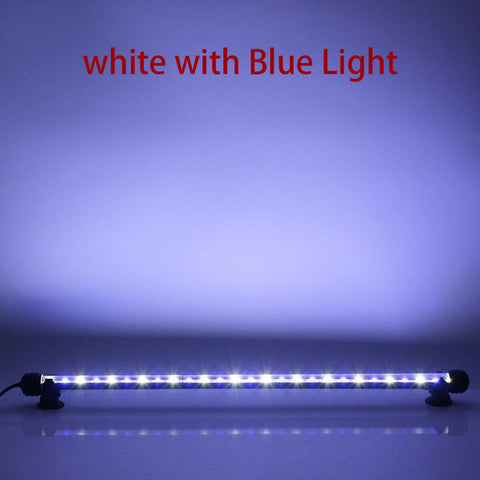 18-48Cm Aquarium Fish Tank Led Light Bar Day Moon Submersible Clip Lamps | Edlpe