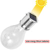 Image of Outdoor Solar Waterproof Led Bulb Light Rotatable Nightlight | Edlpe