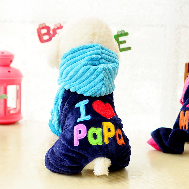 Autumn Winter Pet Dog Clothes Clothing Pet Small Large Dog Coats Jackets Apparel | Edlpe