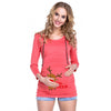 Image of Christmas Pregnant Woman Breastfeeding Suit Nursing Hoodies | Edlpe