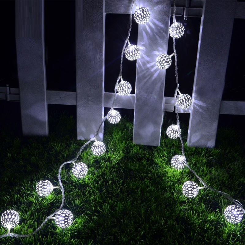 Battery Operated Fairy Heart Fairy String Lights Christmas Xmas Party 10/20 Led | Edlpe