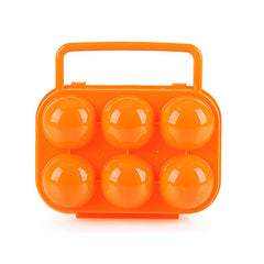 Ourdoor Portable Folding Egg Storage Case Plastic Shockproof Egg Holder Foldable