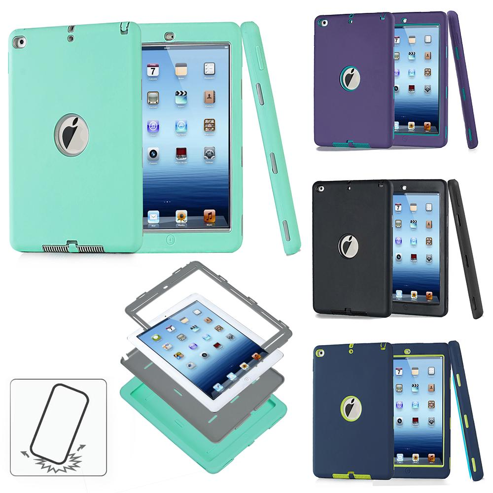 Case For Ipad For Ipad Air2 Heavy Duty Rugged Shockproof Armor Defender Protective Case Cover | Edlpe
