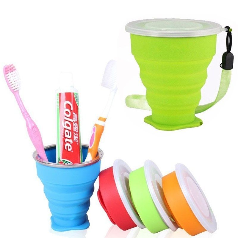 Portable Silicone Telescopic Drinking Collapsible Folding Cup Travel Camping | Edlpe
