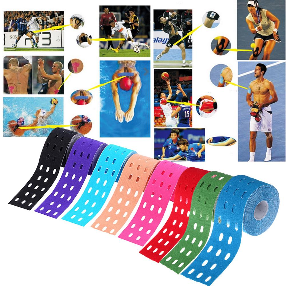 Breathable Waterproof Self Adhesive Tape Finger Joints Wrap Sports Bandage Kinesiology Muscle Tape | Edlpe