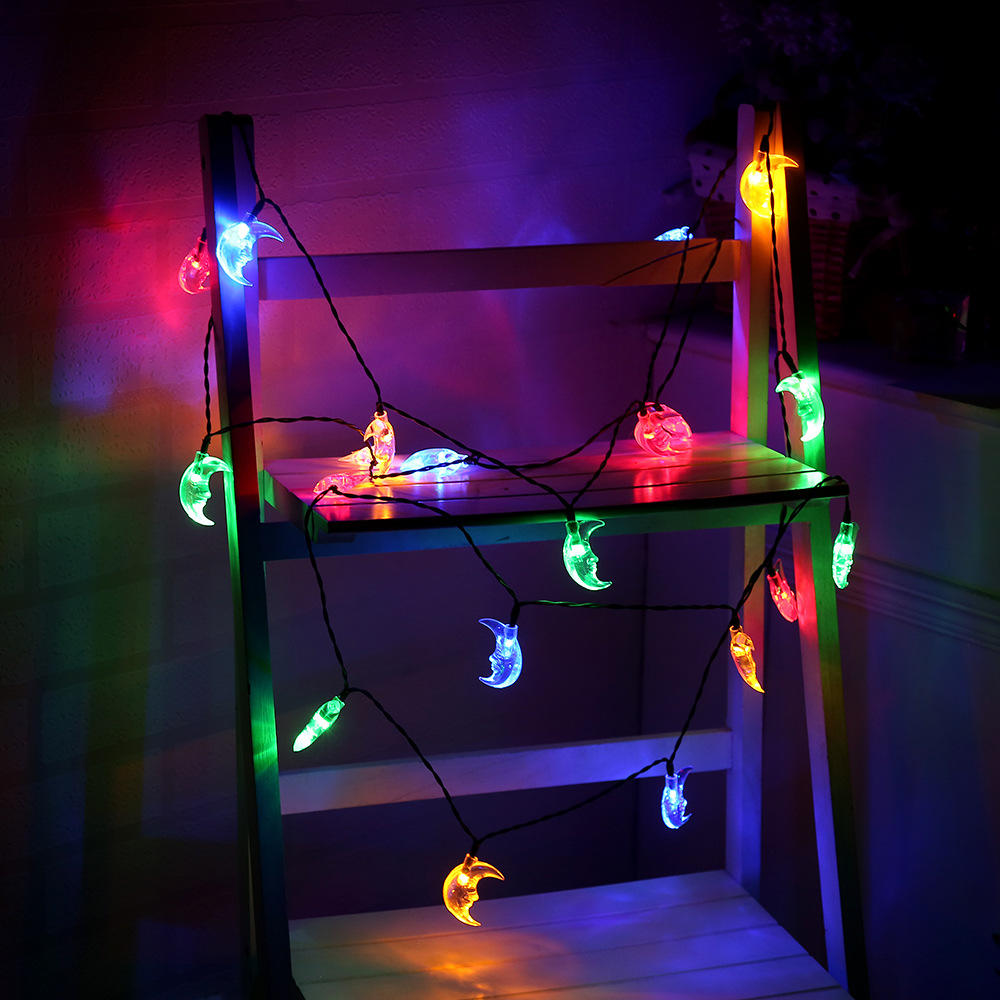 3.5M Moon Shape Led Fairy Lights Indoor/outdoor String Lighting Xmas Christmas | Edlpe