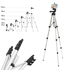 Telescopic Camera Tripod Stand Holder Mount+Carry Bag For Phone Iphone/samsung | Edlpe