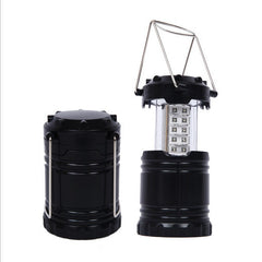 Collapsible 30 LED Lightweight Portable Camping Lantern Hanging Tent Flashlight Light
