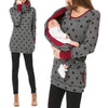 Image of Fashion Printed Breastfeeding Sweater Nursing Hoodies | Edlpe