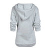 Image of Plus size Multi-functional maternity hoodies Breastfeeding top