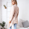 Image of Women Long Sleeve Waterfall Cardigan Jumper Jacket Casual Loose Coat Outwear | Edlpe