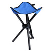 Image of Outdoor Portable Camping Hiking Fishing Folding Picnic Stool Tripod Three Feet Chair | Edlpe