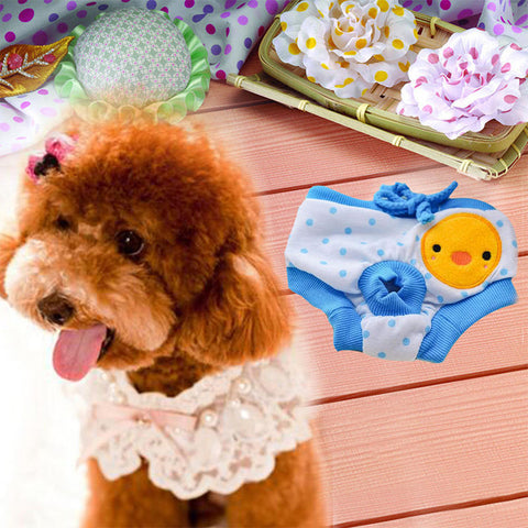 Female Dog Bitch Reuseable Sanitary Nappy Diapers Pads Pants Underwear | Edlpe