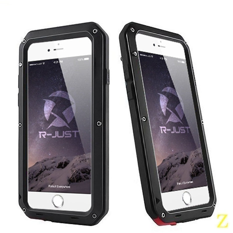 Waterproof Shockproof Aluminum Gorilla Glass Metal Case Cover For Apple Iphone | Edlpe