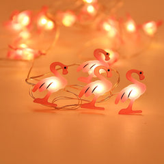 2M 20LEDs Flamingo Unicorn Grape Strawberry LED String light Fruit Fairy light Home Party Romantic