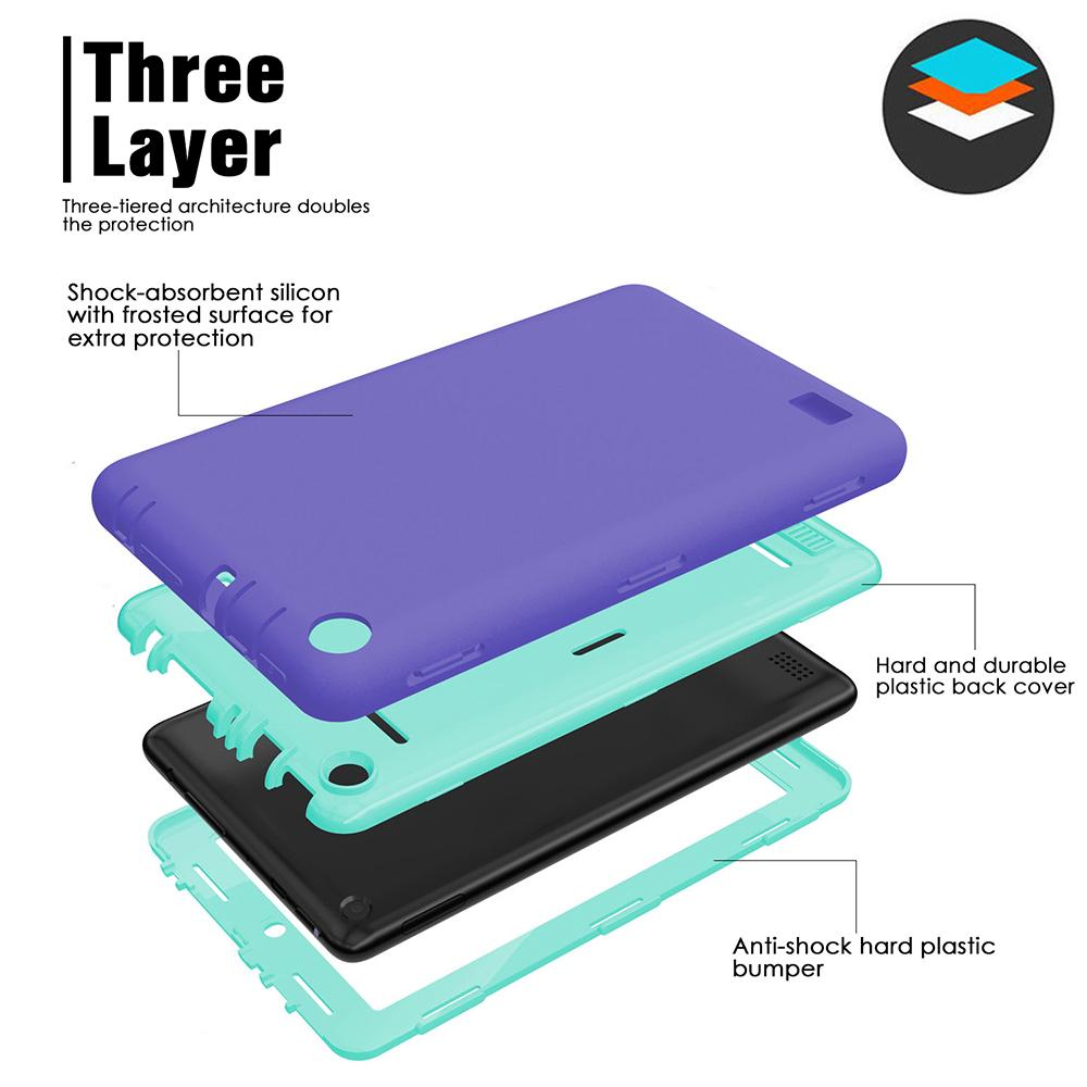 Three Layer Full Body Protective Case Cove Shockproof Silicone Protective Case Shockproof Case Cover | Edlpe