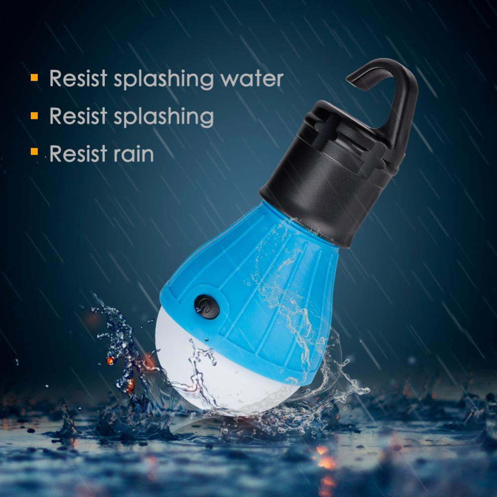 Soft Light Outdoor Hanging Led Camping Tent Light Bulb Fishing Lantern Lamp | Edlpe