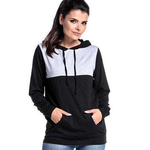 Women Long Sleeve Hooded Hoodie Maternity Tops Nursing Feeding Hoody T-Shirts | Edlpe
