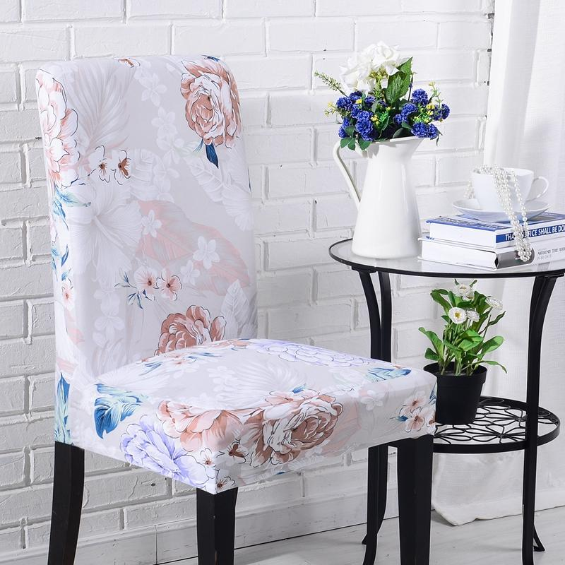 Stretch Elastic Chair Cover Seat Covers Dining Room Wedding Banquet Removable | Edlpe